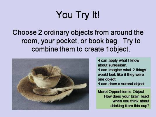 Surreal Object: You Try It!